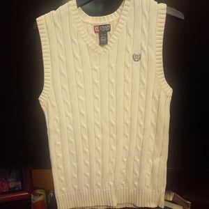 Chaps Sweater Vest Vneck Boy L 14/16